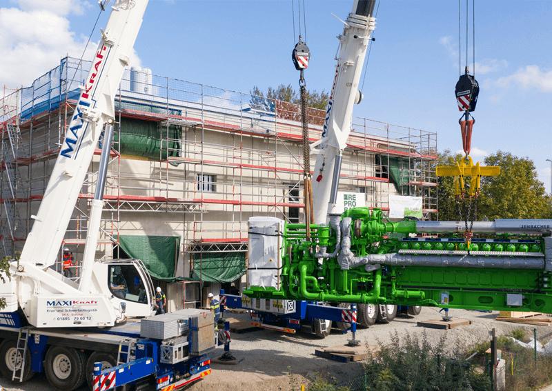 Abschluss der Bauarbeiten am BHKW Leipzig Nord-West