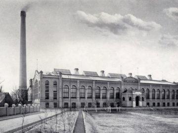 Heizkraftwerk Leipzig Süd 1910, Maschinen und Schalthaus