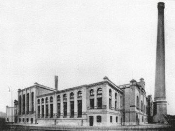 Heizkraftwerk Leipzig Süd 1913
