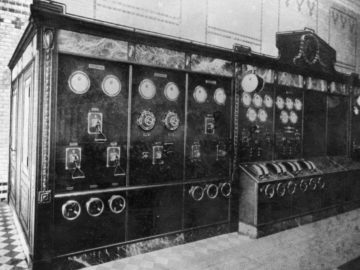 Heizkraftwerk Leipzig Süd 1930