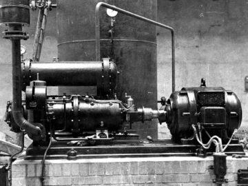 Heizkraftwerk Leipzig Süd 1936