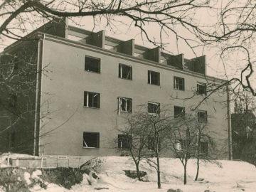 Heizkraftwerk Leipzig Süd 1940, Schaltwarte