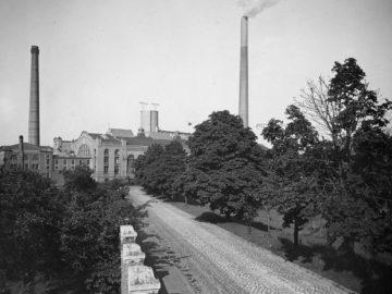 Heizkraftwerk Leipzig Süd 1942