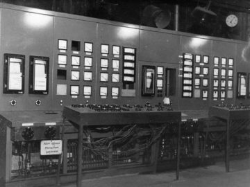 Heizkraftwerk Leipzig Süd 1943
