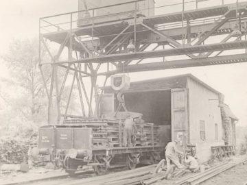 Heizkraftwerk Leipzig Süd 1954, Portalkran