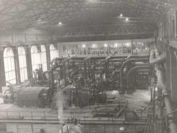 Heizkraftwerk Leipzig Süd 1960