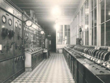 Heizkraftwerk Leipzig Süd 1961