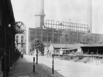 Heizkraftwerk Leipzig Süd 1970