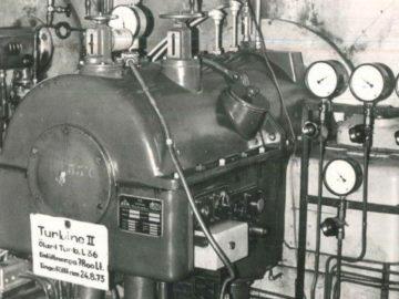 Heizkraftwerk Leipzig Süd 1973