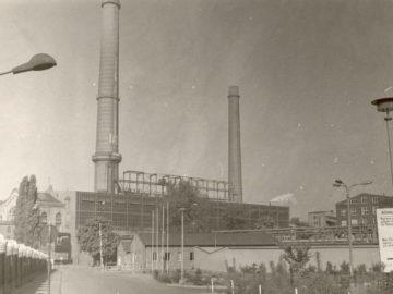 Heizkraftwerk Leipzig Süd 1980