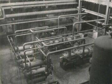 Heizkraftwerk Leipzig Süd 1981, Kompressoranlage