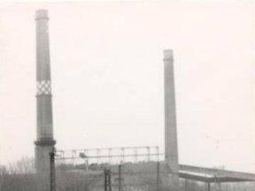 Heizkraftwerk Leipzig Süd 1988