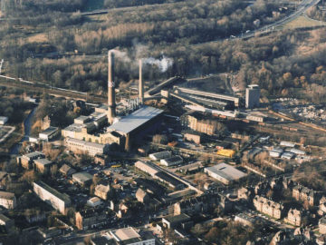 Heizkraftwerk Leipzig Süd 1990