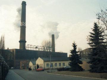 Heizkraftwerk Leipzig Süd 1996
