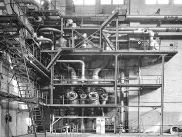 Heizkraftwerk Leipzig Süd, Hilfsmaschinenhaus