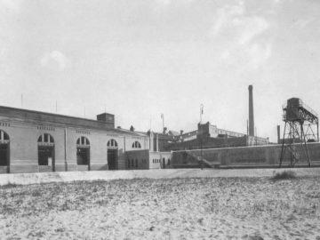 Heizkraftwerk Leipzig Süd, Kohleschuppen